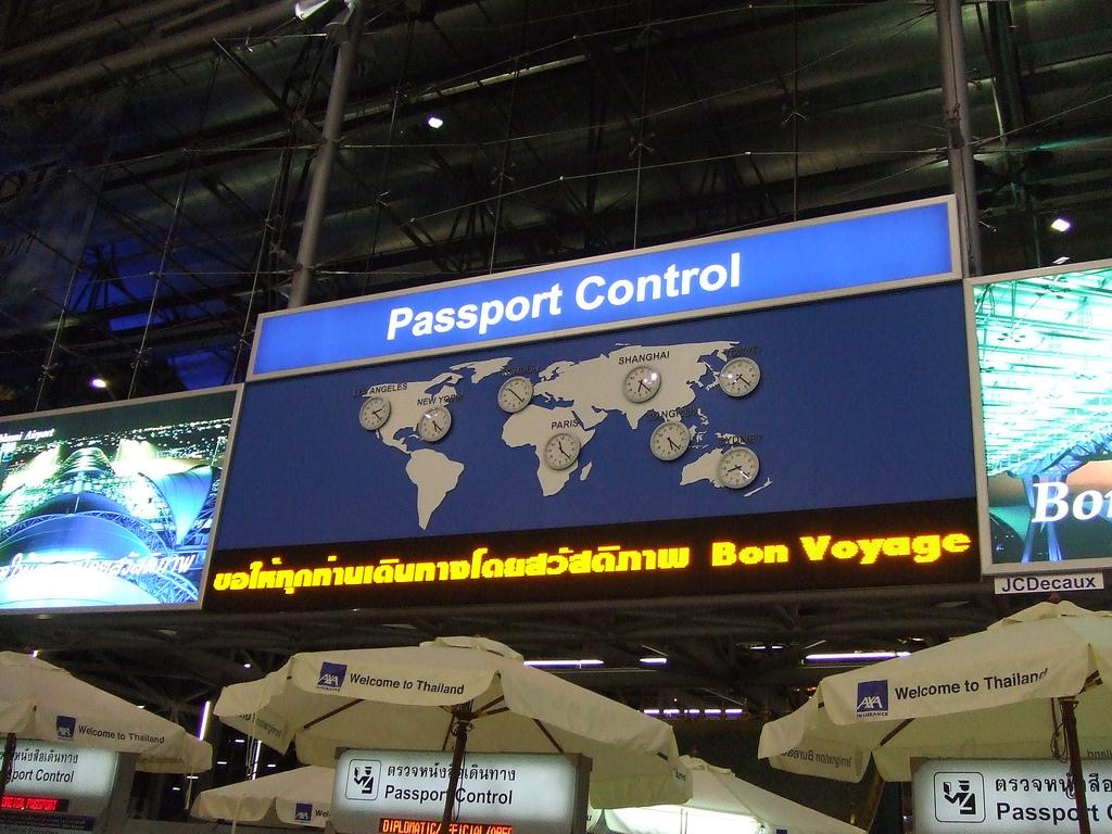 Passport control Flickr